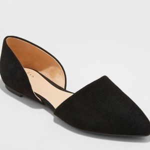 A New Day Rebecca pointed toe ballet flats
